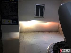 日产逍客荆门前沿车改大灯改装升级,氙气大灯改装,无损升级!