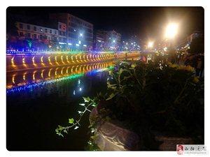山阳县城夜景,美得不要不要的!