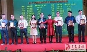 """""""寻乌蜜桔""""品牌价值23.92亿元,荣入2017中国果品区域公用品牌价"""