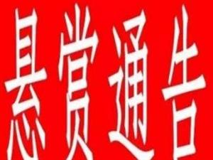 【汉寿公安悬赏通告三】发现这15人,请马上报警!