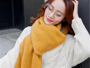 双十一你们都剁手了吗?这个冬天,你的衣柜里还少一件围巾吗?