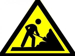 这两条道路即将封闭施工,请大家注意绕行