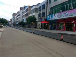 """高州长坡:为县域副中心建设打基础,部分街道进行""""黑底化""""!"""