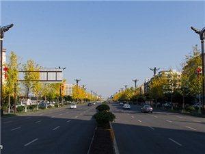 【飘视觉】广汉市中山大道南段,在初冬时节特美丽(图片)