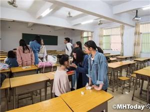 """棉湖第二中学摄影社团举办""""因为视影""""人像摄影比赛活动"""
