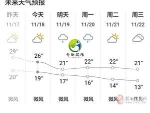 冷空气下午来袭