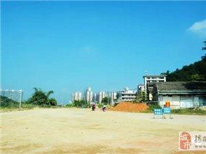 潮惠高速河婆站延伸线正紧张施工中...