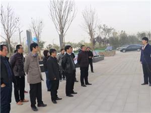 富平县政协委员莅临我公司项目地视察
