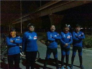 11月25日夜骑东湖