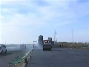 邹城孟子大道塌陷路段维修完成今天通车