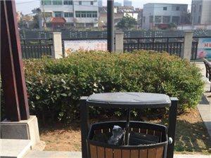 龙眠河公园放置的垃圾桶居然不让人放垃圾?真的是这样的吗?