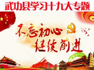 武功县学习贯彻党的十九大精神专题