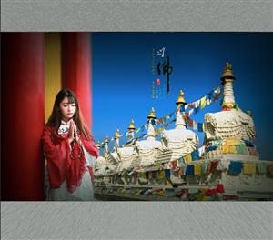【摄影分享】佛-印象(人物拍摄)――望莲作品