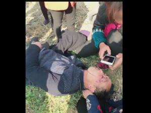 阳新龙港镇孔志村孔凡玉在获湖村被打致伤