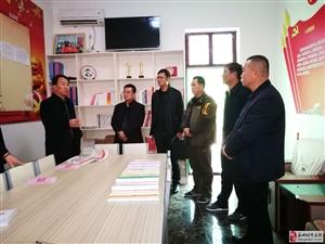 市县组织部领导对瓜州县慈善协会党建宣传阵地进行视察指导