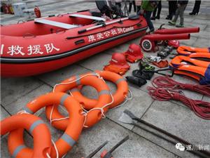 应急救援:遂川志愿者积极普及急救知识(组图)