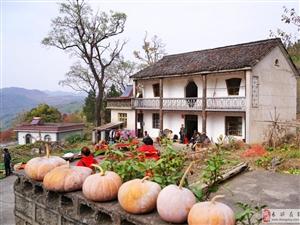 七井画坑村:大山深处最美村落