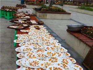 带您领略:黔东南州施秉县,苗家长桌宴。村寨文化的遗存。
