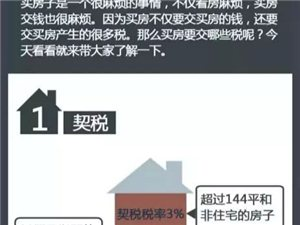 图解!让你秒懂买房后必须要交的7种税费