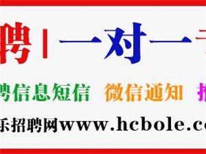 「汉川伯乐招聘网」新增岗位推荐(12月1日-9日)