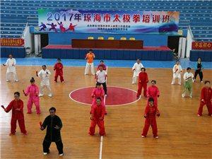 2017琼海市年太极拳教练员培训班在市体育馆举行