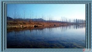 冬日的小河!