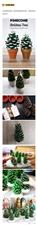 圣诞临近,松塔的手工制作方法来啦!