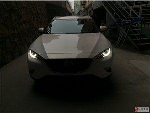 荆门改装,荆门全新马自达CX4升级原厂日行灯!