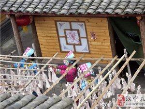 """宁强羌州民俗村邀你吃""""庖汤"""" 熏腊肉找回童年记忆"""
