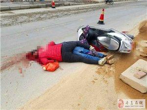 突发!寻乌南桥发生一起车祸,现场惨不忍睹!小心驾驶,车祸猛于虎,切记!