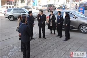 市文明办第四测评组在隰县地税测评