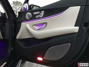 奔驰E300数字胎压柏林之声音响电动尾门一脚踢