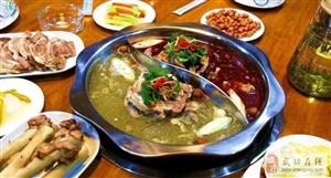 【吃货福利】杨凌大福顺羔羊脖火锅,可吸骨髓的特色美食!让这个冬天不再冷