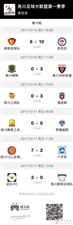 务川自治县足球大联盟联赛记录报道(第十轮)