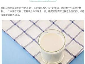 �雄人、你早餐喝牛奶�是豆�{?到底哪��更�m合你?