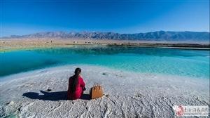 柴达木翡翠湖,遥远的幻境!美爆了!