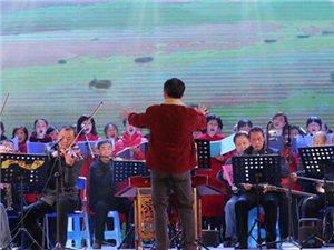 12月25日晚上,广汉市第八届社区文艺调演决赛在金雁广场举行(组图)