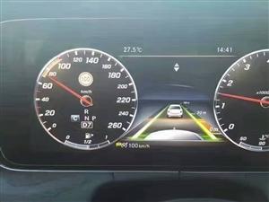 车型随我自在疯狂奔驰E200加电动尾门23P驾驶辅助自动驾驶辅助