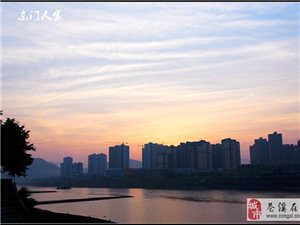 【苍溪】嘉陵江边看日出【图】