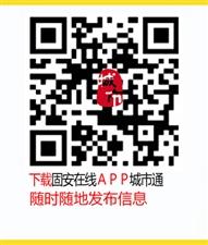 下载固安在线APP城市通,发布信息更方便