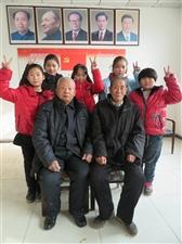 阜城县文艺志愿服务队――――西河大�说唱团深冬演练