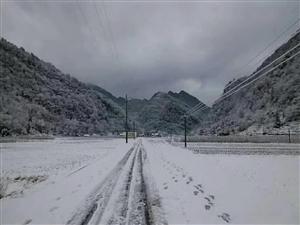 2018,家沟的雪
