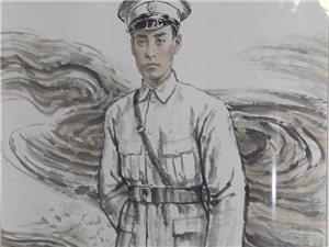 水彩画:青年时期的周总理!