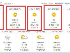明天开始博兴又要降温啦!大家一定要注意保暖~