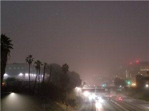 下雨前 肯定会有雾 、、、
