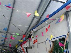 山阳县高坝水产养殖场遭大风袭击