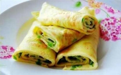 信阳美食早餐系列――鸡蛋摊饼