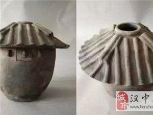 热心市民向勉县博物馆捐赠了秦代陶��