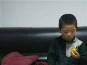 汉中开发区鑫源所接群众报警称在路边发现一迷路小孩