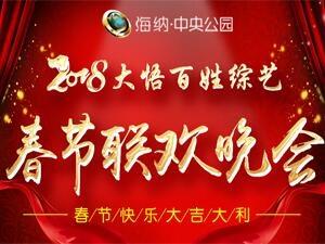 2018大悟百姓综艺春节联欢晚会